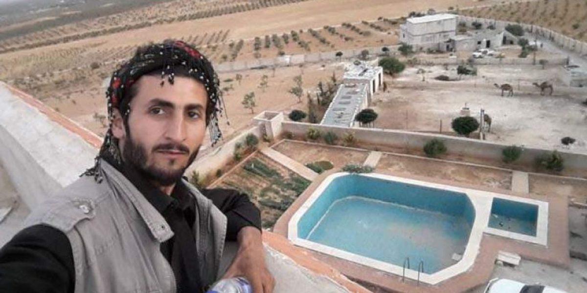 Fundador de Estado Islámico tenía una piscina en pleno desierto