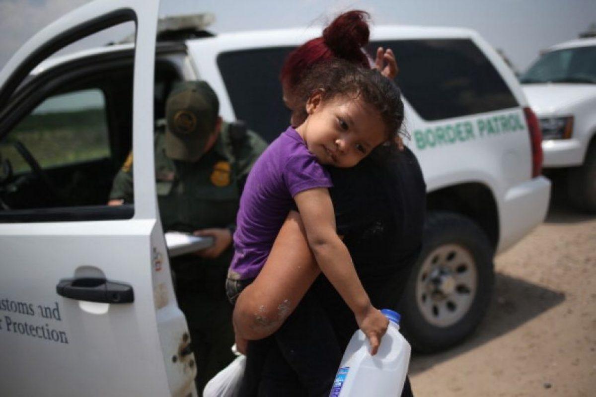 """""""La inmigración no debe generar miedo"""", señaló en conferencia de prensa en la Casa Blanca Foto:Getty Images"""