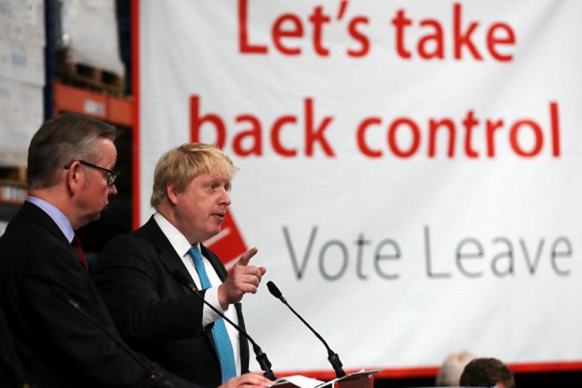 """También hubo eventos de los principales promotores del """"Brexit"""" Foto:Getty Images"""
