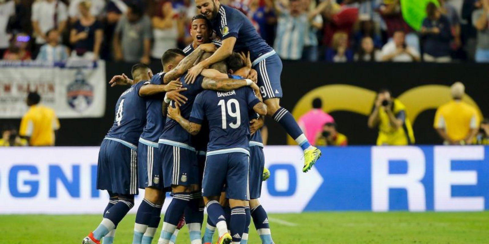 Argentina enfrentará a Chile en la final y reeditarán la definición de la Copa América 2015 Foto:Getty Images
