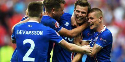 Islandia clasificó a octavos de final en su debut en la Eurocopa Foto:Getty Images
