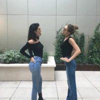 Al parecer la transparencia en la blusa de Kendall no fue una falla de vestuario. Foto:Vía Instagram/@kendalljenner