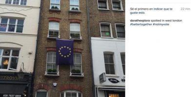 Y documentaron quienes sí quieren permanecer en la Unión Europea Foto:Instagram