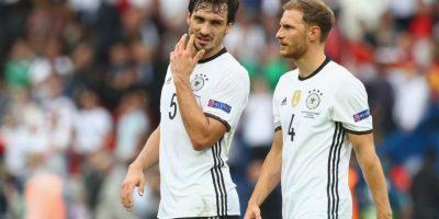 Alemania fue la selección con más posesión de balón en la fase de grupos de la Eurocopa Foto:Getty Images