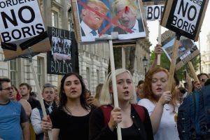"""Miles de jóvenes se manifestaron en contra del """"Brexit"""" en Londres Foto:Getty Images"""