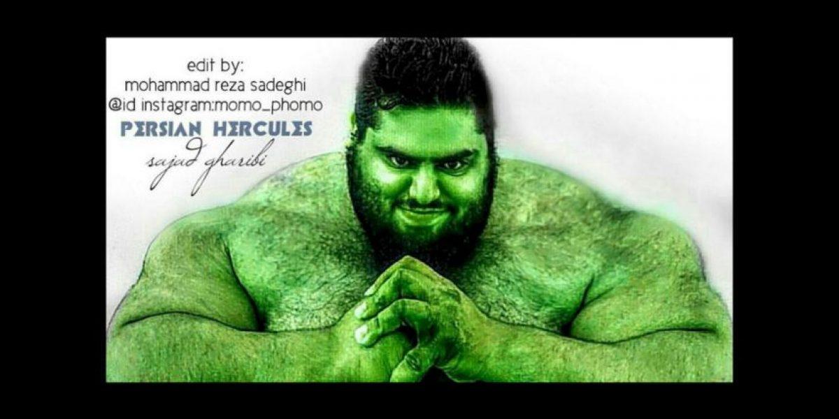 El Hulk de halterofilia y culturismo conquista Instagram