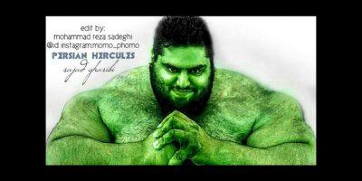 El Hulk de carne y hueso Foto:Vía instagram.com/sajadgharibii