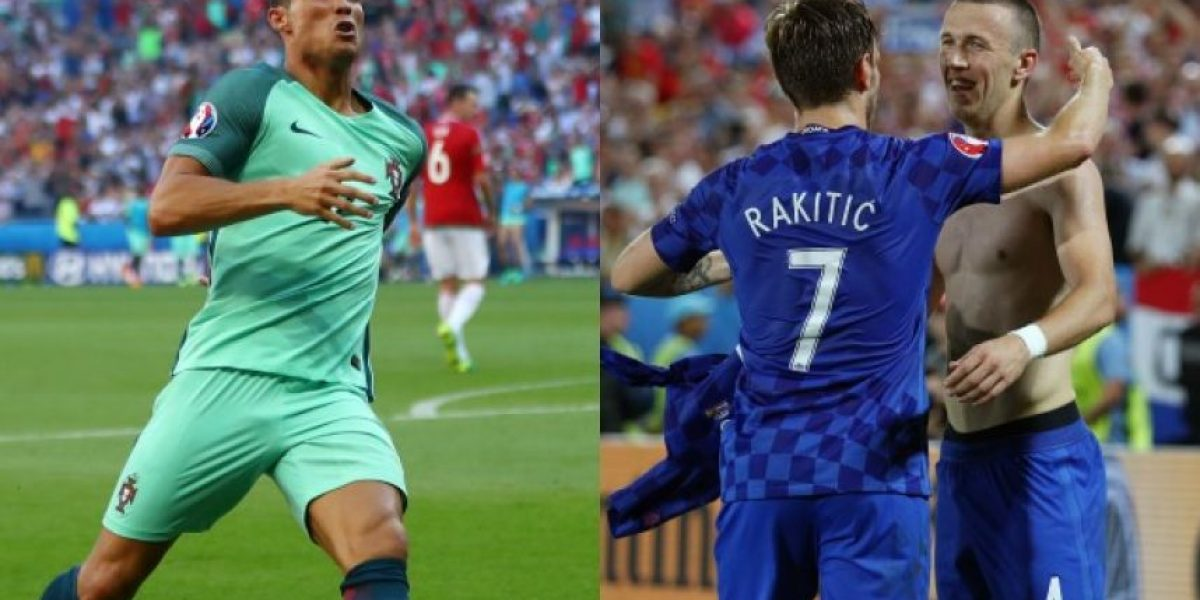 Eurocopa octavos de final: En vivo Croacia vs Portugal