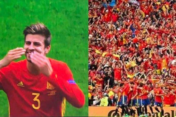 Shakira bromea con gol de Suiza en la Eurocopa