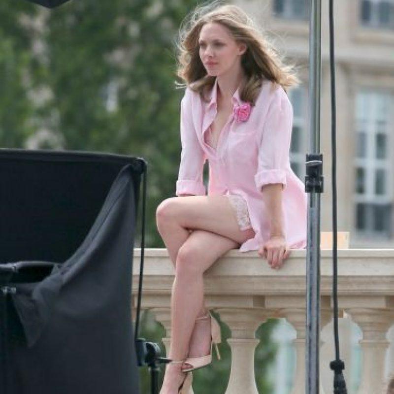 La modelo no se percató de que estaba mostrando mucho más de la cuenta Foto:Grosby Group