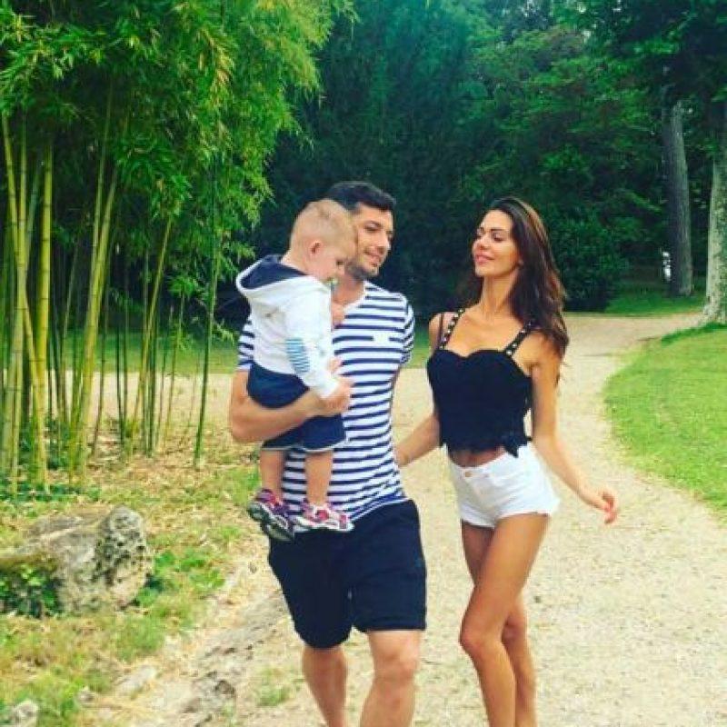 Tienen un hijo, Luan. Foto:Vía instagram.com/erjona.dzemaili