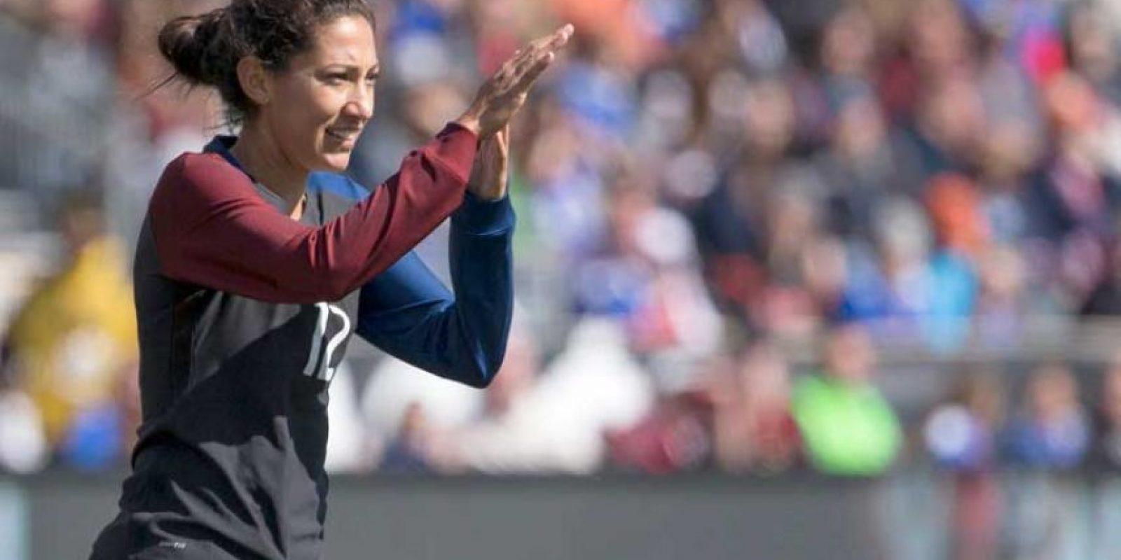 Es miembro de la selección femenina de Estados Unidos. Foto:Getty Images
