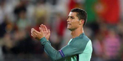 Cristiano Ronaldo celebrando Foto:EFE