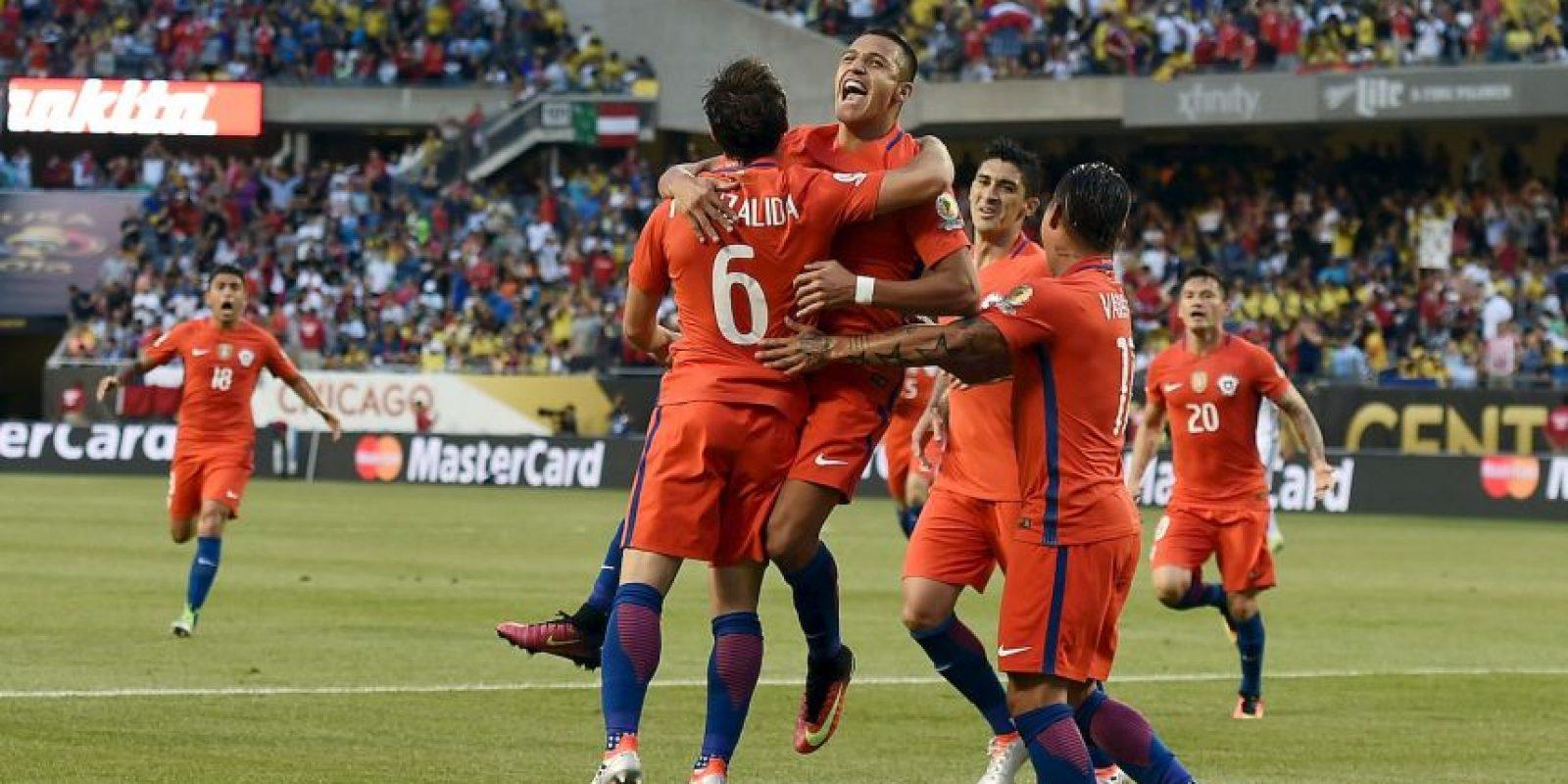 Chile, por su parte, venció a Colombia por 2 a 0 y buscará su segundo título en un año Foto:Getty Images