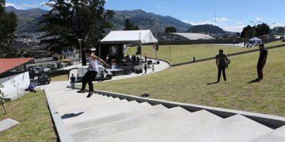 Una Plaza Pasiva de 765 m2 en la que se podrá disfrutar de actividades de relajación como Yoga, Taichí y Capoeira. Foto:Cortesía