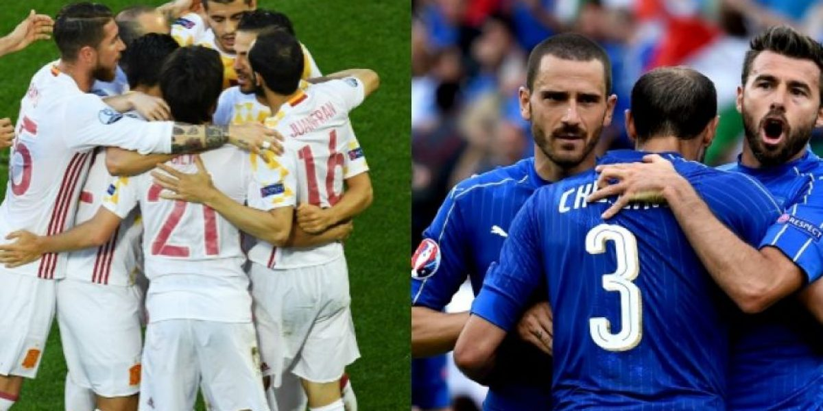 Eurocopa octavos de final: En vivo Italia vs España