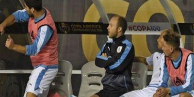 El enojo de Luis Suárez Foto:Captura de pantalla