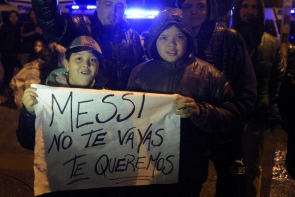 Hasta un rap le hicieron a Messi para que no se vaya de Argentina