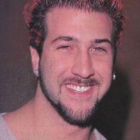 Así lucía en 2000 junto a 'N Sync Foto:Vía Twitter