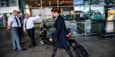 El aeropuerto volvió a operar unas horas después Foto:AFP