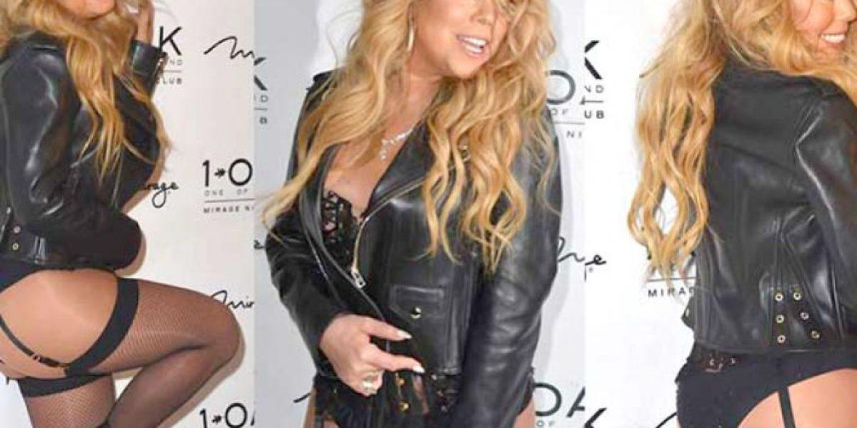 Mariah Carey debuta con DJ con un sexy atuendo