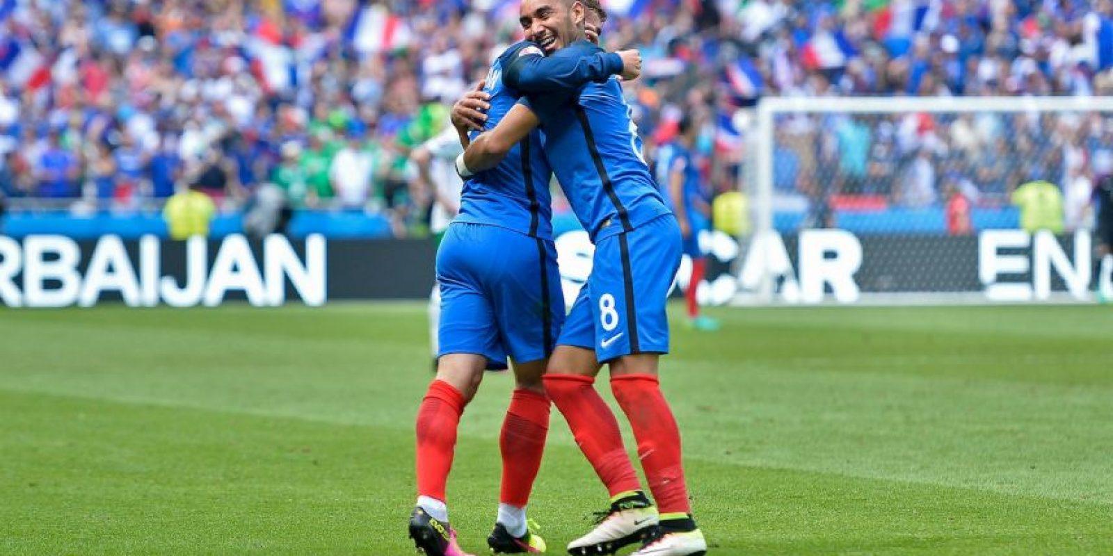 Francia venció por 2 a 1 a Irlanda y avanzó a cuartos, donde espera seguir su camino a la final para dejar la copa en casa Foto:Getty Images