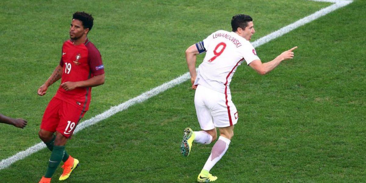 Lewandowski entró a la historia con su primer gol en la Euro 2016