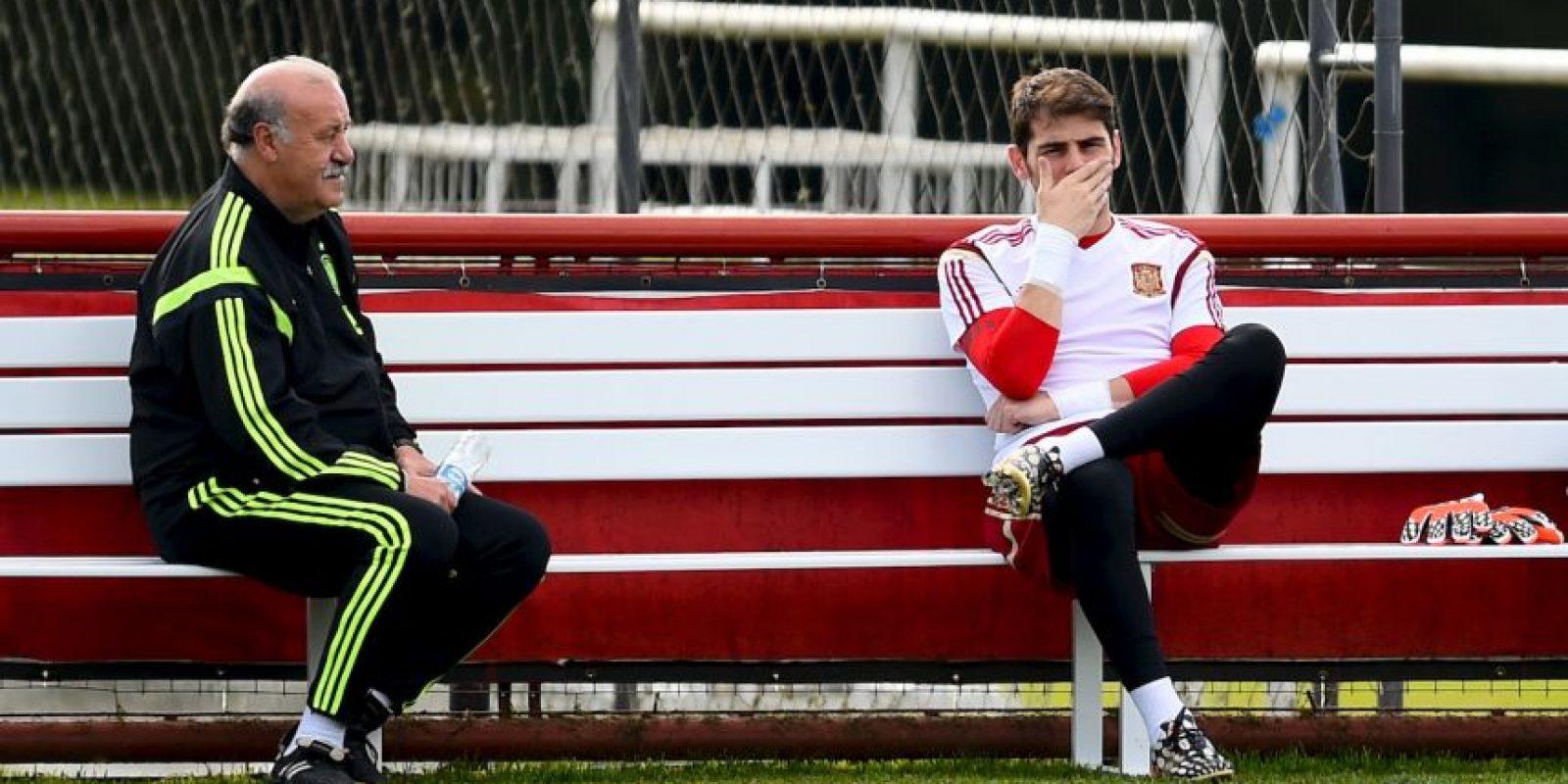 Casillas pensaba que podría jugar ese partido, pero Del Bosque lo dejó en la banca Foto:Getty Images