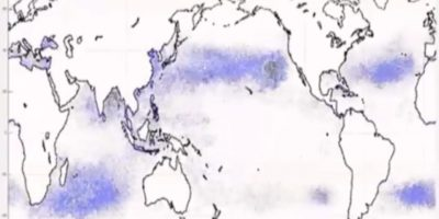 Estos son las Grandes Parches de Basura de los océanos.