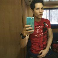 Christián Chávez generó gran polémica por esta foto que publicó en su cuenta de Instagram Foto:Instagram @christianchavezreal