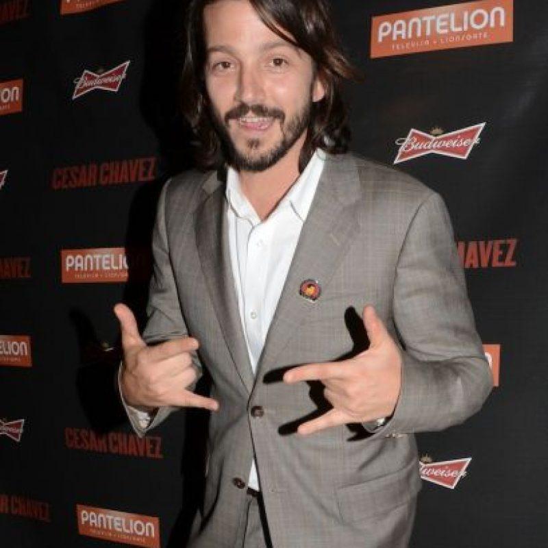 Diego Luna ahora es un sex symbol de Hollywood y América Latina. Foto:Getty Images