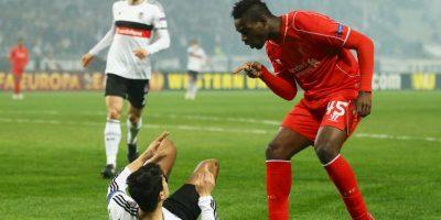 Mario Balotelli se quedó sin espacio en el Liverpool Foto:Getty Images