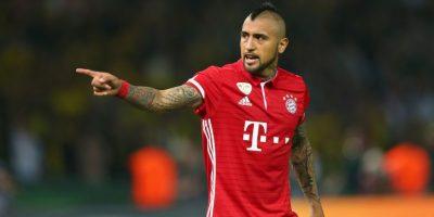 Arturo Vidal fue uno de los pilares de Bayern Munich para conseguir la Bundesliga y la Copa de Alemania Foto:Getty Images