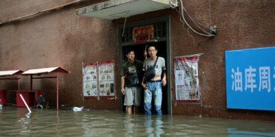 Sin embargo, las malas condiciones climáticas obligaron a cancelar el partido Foto:AFP