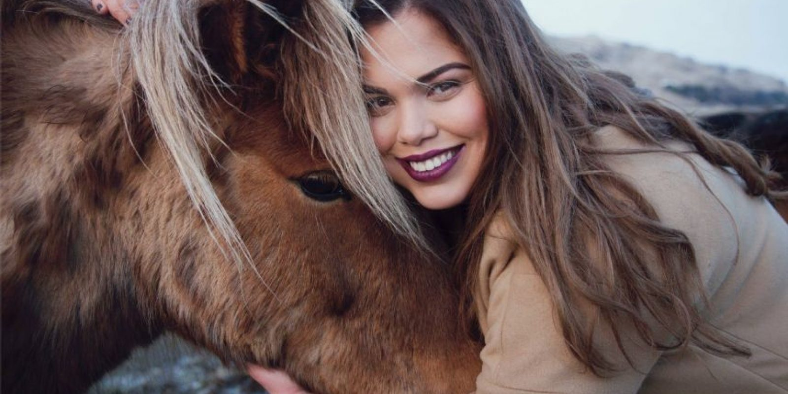 Su segundo hogar es Islandia. Desde allí comenzó a modelar. Foto:vía Facebook/María Jiménez Pacífico – Hanna Þóra