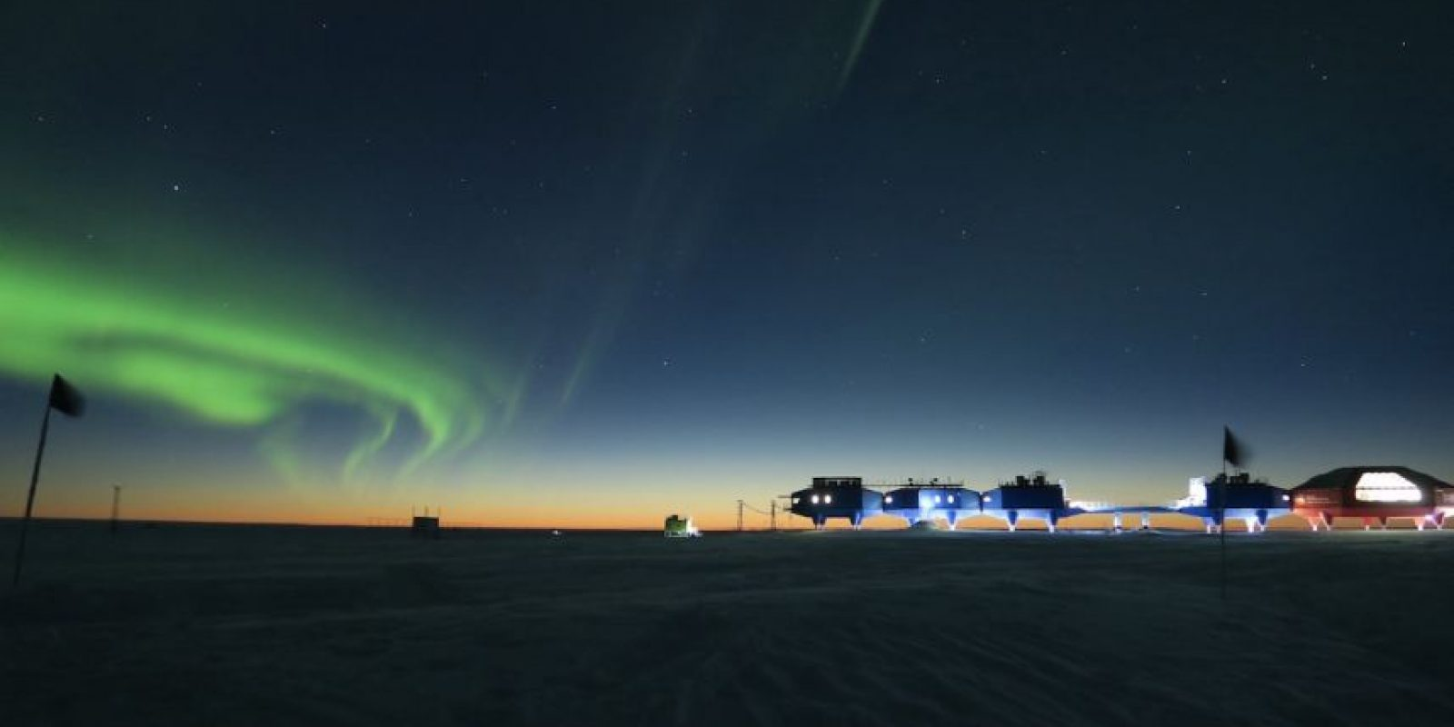Antarctic Space Station Foto: Richard Inman – Insight Astronomy Photographer of the Year 2016