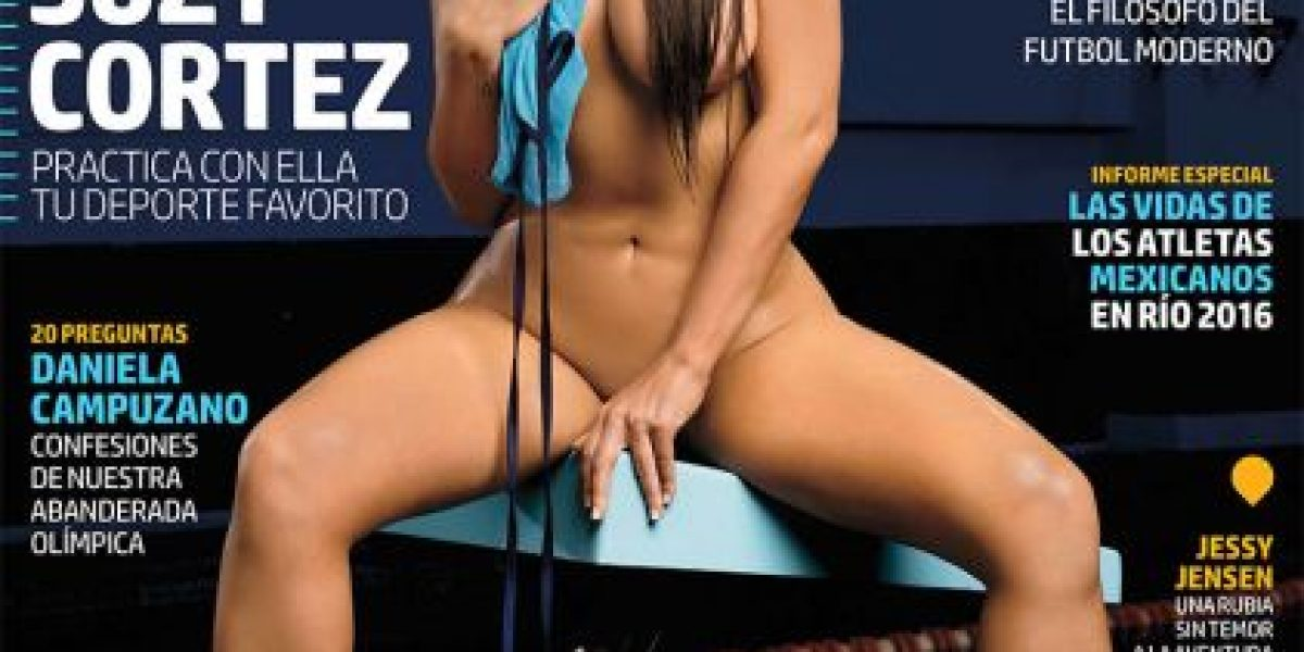 El atrevido body painting de Miss Bum Bum por Río 2016