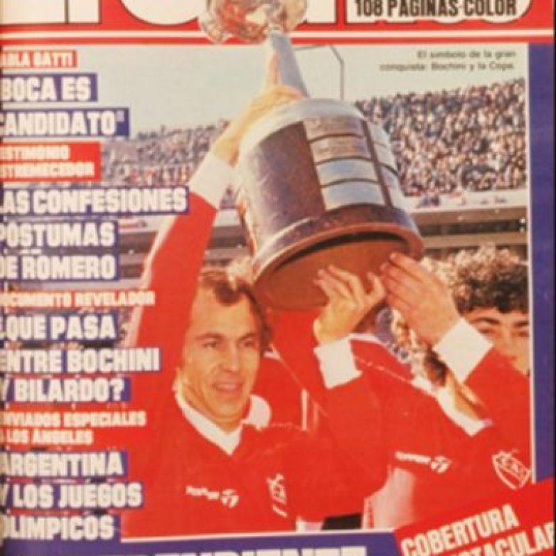 Argentina lleva la delantera en los países que más veces han levantado la Copa Libertadores con 24 coronas. Independiente aporta con siete títulos y es el equipo más ganador del torneo Foto:Archivo revista El Gráfico Chile