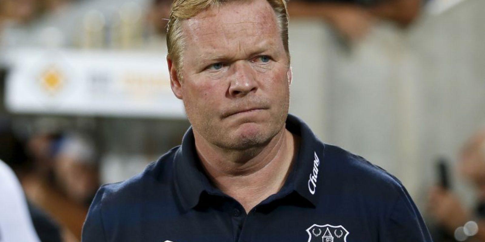 9.- Ronald Koeman (Everton) Foto:Getty Images