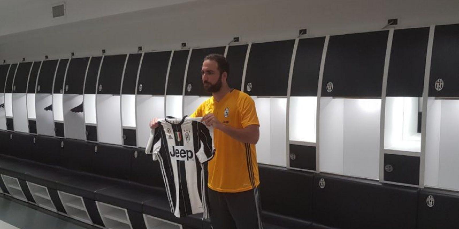 Su llegada causó revuelo y también críticas Foto:Twitter Juventus