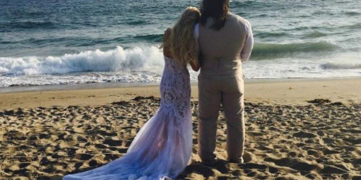 Así fue la boda de Rusev y Lana, estrellas de la WWE