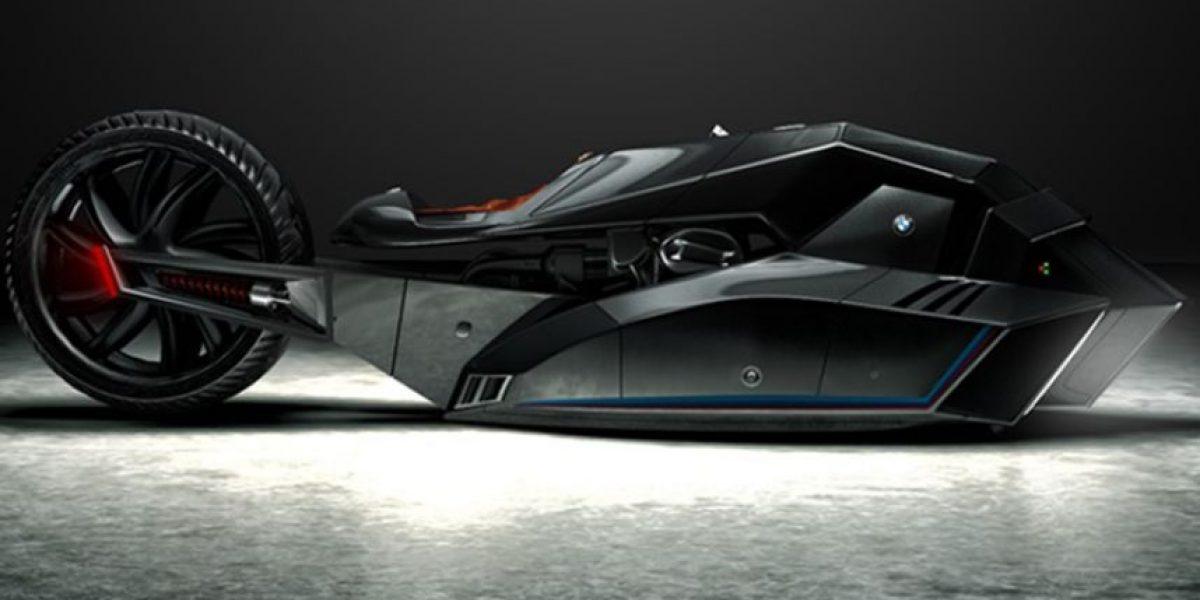 BMW presenta la que sería la moto del futuro