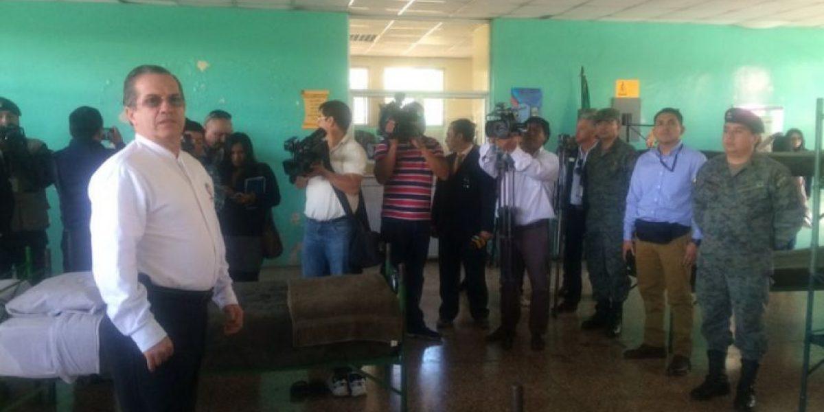 Patiño visitó adecuaciones en destacamentos militares
