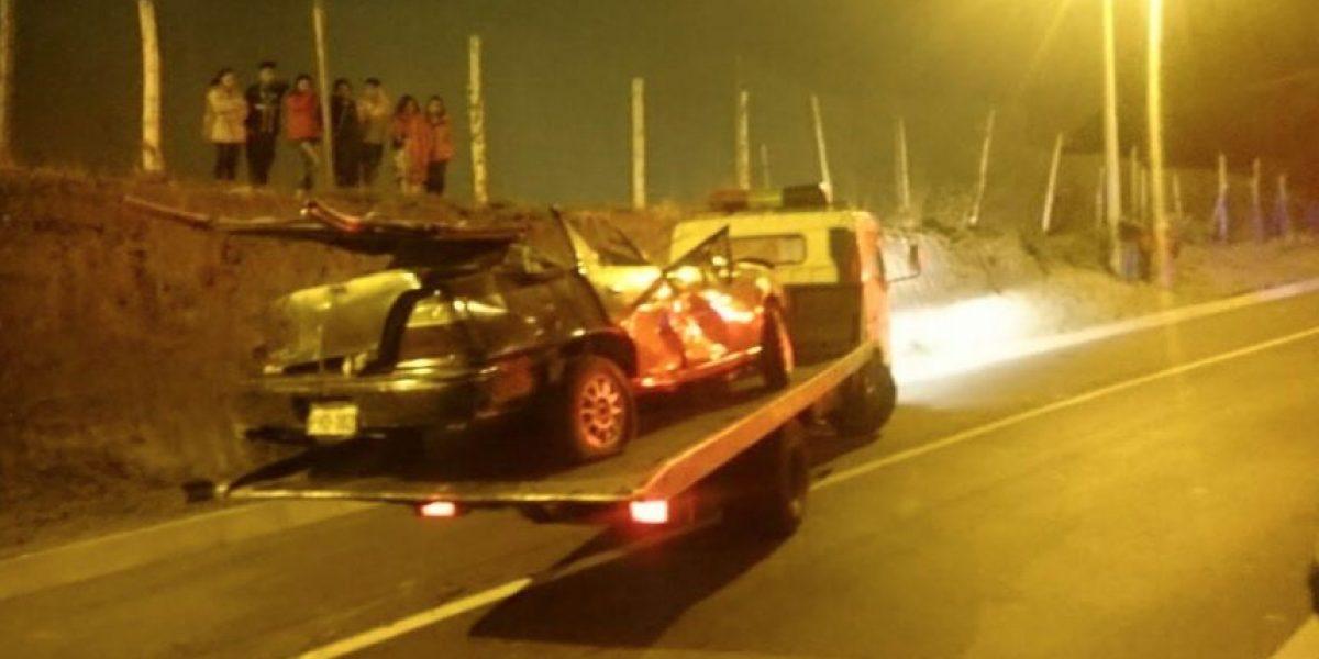 ECU911: Accidentes de tránsito durante el fin de semana