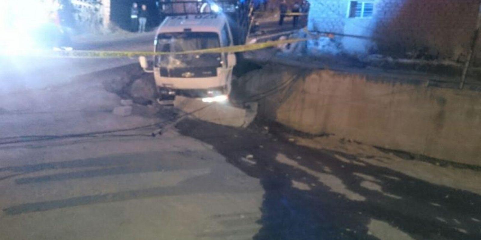 Accidente en Cumbayá Foto:ECU 911