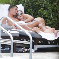 Así captaron a Cristiano Ronaldo con Cassandra Davis Foto:Grosby Group