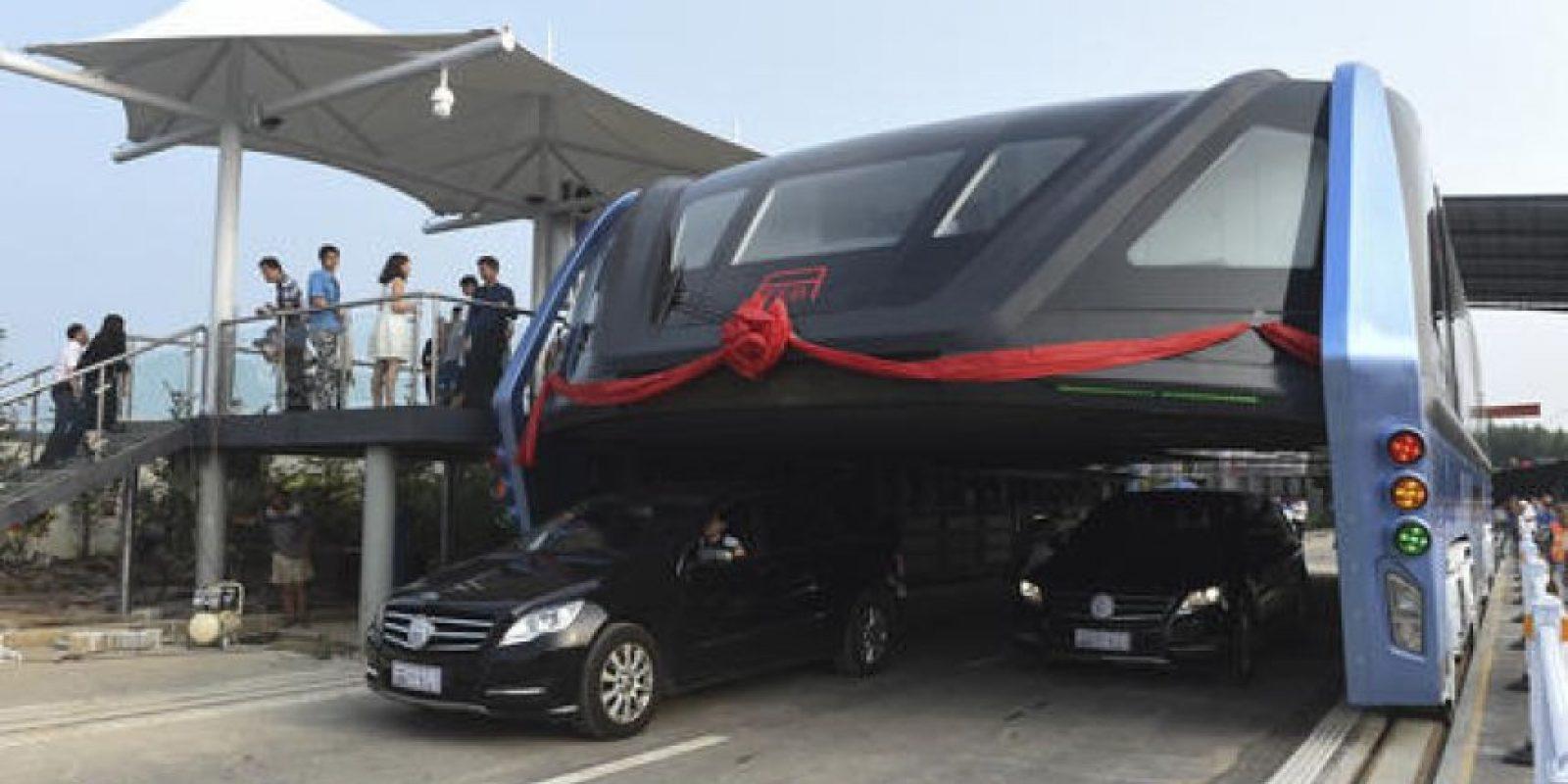 Su principal objetivo es viajar por encima de los automóviles Foto:AP