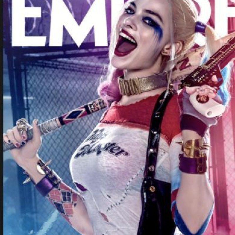 """Admitió sentirse aterrada de Jared Leto como """"El Joker"""". Foto:Empire"""
