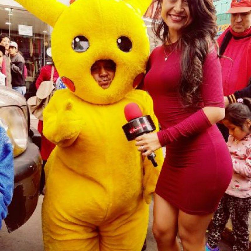 Alguien ya encontró a Pikachu. Foto:vía Twitter
