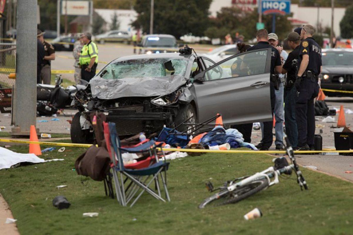 Cada año se pierden aproximadamente 1,25 millones de vidas a consecuencia de los accidentes de tránsito. Foto:Getty Images
